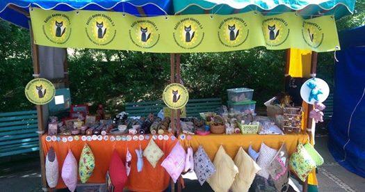 Krámek Sluníčka na Svatomartinských trzích