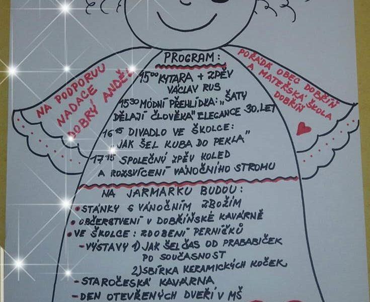 V MATEŘSKÉ ŠKOLCE V DOBŘÍNI PRO NÁS PANÍ UČITELKY A DĚTI USP...