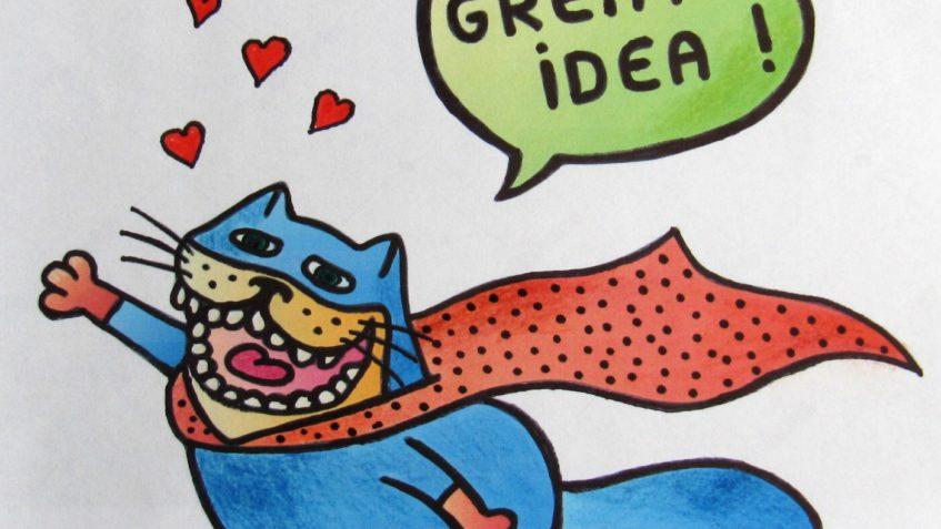 ÚŽASNÝ NÁPAD SLEČNY MARKÉTY...jak pomoci kočičkám <3 :) &...
