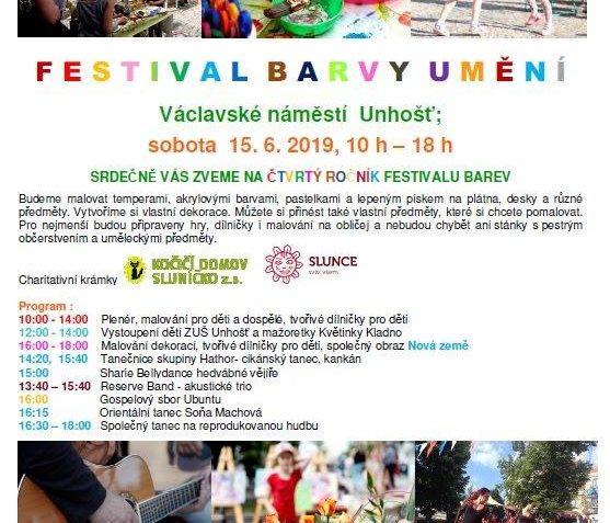 UŽ TUTO SOBOTU, 15.6. 2019  Super program pro děcka i dospě...